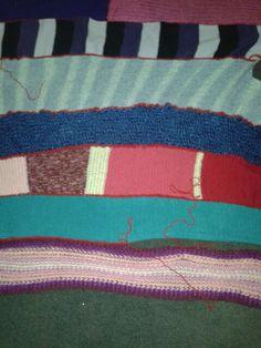 van sjaals een deken haken!