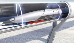PriestmanGoodehas designed spaceship-inspired passenger cabins fora company that is building high-speedHyperlooptransport networks all around the world