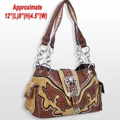 Cowgirl Bling, Ladies Purse, Taupe, Shoulder Bag, Purses, My Style, Lady, Fashion, Beige