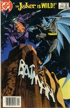Possibly the best Batman Cover Ever Done!  Batman 366 --Walt Simonson gets it done