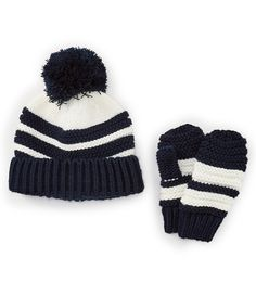 aa7902fad91 Shop for Starting Out Baby Boys Pom Hat  amp  Glove Set at Dillards.com
