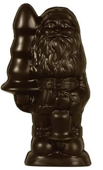 Paul McCarthy's Chocolate Santa with bell and butt plug.