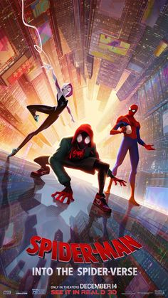 Spider Man into the Spider Verse Movie Poster Comics Film Print - Anime Characters Epic fails and comic Marvel Univerce Characters image ideas tips Marvel Comics, Marvel Art, Marvel Avengers, Spiderman Kunst, Spiderman Spider, Spider Gwen, Spider Man Comic, Spiderman Poster, Free Spider