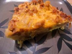Gluten-Free Breakfast Casserole - would be great for Christmas morning!