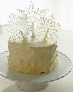 Snow White - perfect winter cake