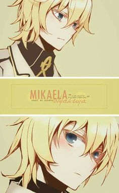 Owari no seraph - Mika (Mikaela Hyakuya) Seraph of the End #OnS #anime