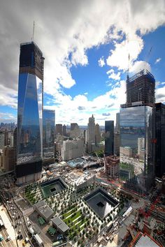 Twitter / WTCProgress: Summer at One World Trade