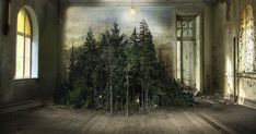 This Artist Used A 110-Year-Old Technique To Create Surreal Indoor Landscape Photomontages | Bored Panda