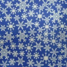 Noel Collection-Christmas Snowflakes Blue at Joann.com