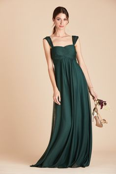 Shop Birdy Grey Maria convertible bridesmaid dress in Emerald for under $100. The green bridesmaid dress features convertible straps that can be worn 3 chic ways, and is spun of a super-comfy (like, nightgown-level comfy) stretch mesh fabric, perfect for your bridal party. Emerald Green Bridesmaid Dresses, Maternity Bridesmaid Dresses, Bridesmaid Dresses Under 100, Prom Dresses, Formal Dresses, Galaxy Wedding, Convertible Dress, Green Dress, Night Gown