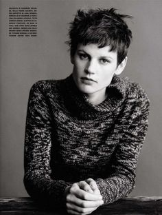"""Saskia De Brauw by Paolo Roversi in """"The New Way To Feel: Just Cool"""", Vogue Italia June 2013"""