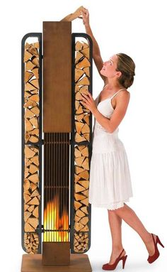 a portable fireplace that kicks arse - yeap put me down for one.