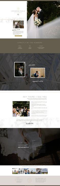 Showit photography website design by Rachael Earl Design Photography Website Design, Creative Business, Logo Design