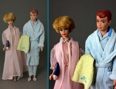 How could Barbie & Ken's towels not be monogrammed?