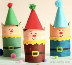 Are you looking for a fun Christmas craft this season? Check out this list of 13 Easy Elf Crafts For Kids that are sure to bring a smile to Santa's face. Christmas Crafts For Kids To Make, Easy Crafts For Kids, Christmas Elf, Crafts To Do, Simple Christmas, Holiday Crafts, Homemade Christmas, Christmas Paper, Christmas Ornament