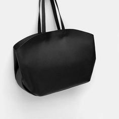 Image 1 of CONTRASTING TOTE BAG from Zara