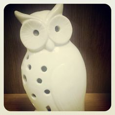Wise Old Owl candleholder. He's a hoot!