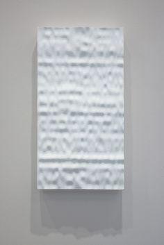 JEREMY SHARMA Remission, 2014 High density polystyrene foam, robotic milled 27 3/5 × 13 4/5 × 3 1/10 in