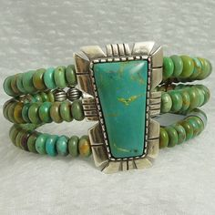 Carolyn Pollack, Sincerely Southwest Turquoise and Sterling Silver Cuff.