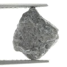 loose Diamonds : 3.07 Gray Color Natural Rough Loose Diamond Irregular Shape  https://buymediamond.com/jewelry/loose/loose-diamonds-3-07-gray-color-natural-rough-loose-diamond-irregular-shape/ #Loose