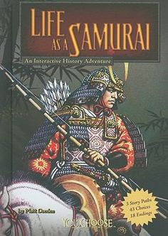 Describes the lives of samurai warriors in ancient Japan. The readers' choices reveal the historical details of life as a samurai during the Gempai wars of the 1100s, the rise of Nobunga in 1560, and as a wandering ronin in the 1600s.
