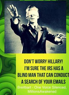 Ouch! #Hillary #IRS