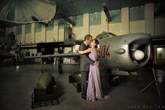 (c) Doru Oprisan - Aviation museum wedding shoot Wedding Shoot, Dream Wedding, Cheap Air Tickets, Portrait Photography, Wedding Photography, Last Minute Travel, Museum Wedding, Fighter Jets, Aviation
