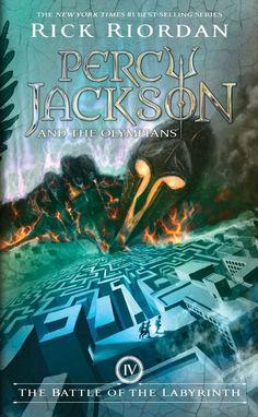 Daughter Of Moonlight: Reseña: La batalla del laberinto {Percy Jackson y los dioses del Olimpo #4}