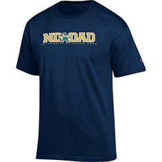 #FathersDay gift ideas - Notre Dame Dad t-shirt