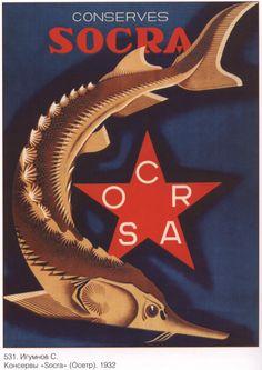 Soviet poster Propaganda Soviet union USSR 265 by SovietPoster