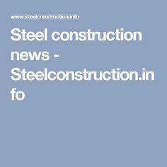Steel construction news - Steelconstruction.info