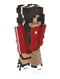 Minecraft Girl Skins, How To Play Minecraft, Minecraft Mods, Minecraft Stuff, Minecraft Ideas, Minecraft Skins Aesthetic, Mc Skins, Minecraft Characters, Pocket Edition