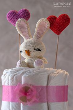 Lanukas: Pastel de pañales para Maia