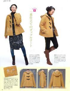 Уроки по кройке из японского журнала. Часть 6