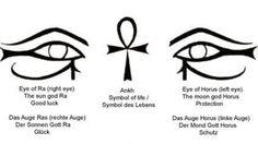 Black-Ankh-And-Horus-Eye-Egyptian-Tattoo-Designs.jpg (640×360)