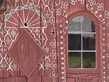 Folk art, Tittling, Bayern, Germany