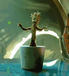 Find images and videos about gif, Marvel and groot on We Heart It - the app to get lost in what you love. Ms Marvel, Marvel Gif, Marvel Heroes, Baby Groot, Abrazo Gif, Groot Guardians, I Am Groot, Dancing Baby, Avengers