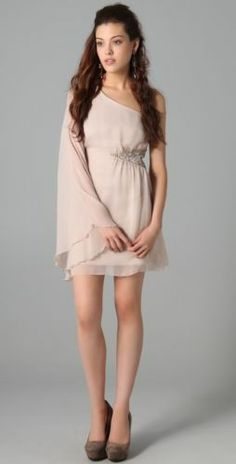 Free People Dancing in the Moonlight One shoulder dress Sale**** Sold out Dress