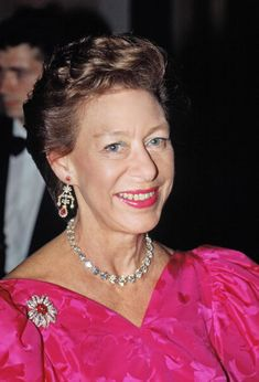 Princess Margaret Patron Of The Nspcc At Oscar De La Renta Fashion Show London