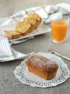 Plumcake vegani succo di frutta e chia