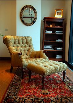 Good Stickley Leopold Chair   Love Ours