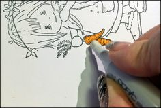 Copic Marker Europe: Tutorial how you can use the Copic Blender