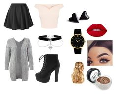"""""""Glitter girl"""" by avablue3 on Polyvore featuring Sans Souci and ASOS"""