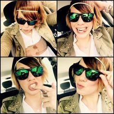 Kristina from Mützenmafia visited us today! Take a look at this awesome pic with her brandnew Cheetah 540 shades  #spotsnapr #eyewear #mützenmafia #fashioneyewear #look #style #fashion #fresh #streetwear #graz #austria #shades #sonnenbrille #igersaustria #trendy @muetzenmafia