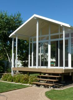 Enjoy your deck more this year! Add a 3 season sunroom, 4 season sunroom, or patio cover from B Wise Contractors! Sunroom financing available OAC. Aluminum Uses, Extruded Aluminum, Four Season Sunroom, Covered Decks, Glass Roof, Sunrooms, Patio, Building, Outdoor Decor