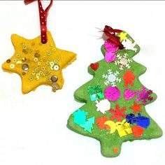 We don't usually start Christmas crafts until December but with a very excited 3 year old in the house someone couldn't wait any longer. So first up we're sharing our Christmas salt dough decorations. We made these last year and the...