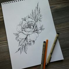 50 Arm Floral Tattoo Designs for Women 2019 - Page 19 of 50 - Flower Tattoo Designs - Tattoo Designs For Women Beautiful Flower Tattoos, Small Flower Tattoos, Small Tattoos, Peony Flower Tattoos, Small Tattoo Arm, Small Shoulder Tattoos, Flower Tattoo Shoulder, Trendy Tattoos, Cute Tattoos