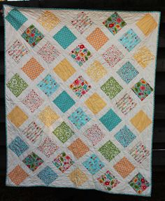 Jem's baby quilt front