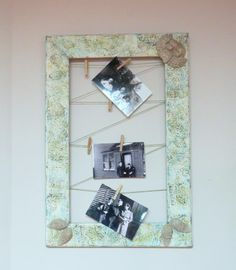 Clothespin frame, rustic cherubs, wooden string, empty picture frame, wall hanging, distressed frame, stamped decor, fireplace frame by ChippedPaints on Etsy Empty Picture Frames, Fireplace Frame, Distressed Frames, Cherubs, Angels, Rustic, Wall, Etsy, Home Decor