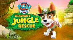 PAW Patrol: #Tracker's Jungle Rescue! NEW Game for Kids in English. - YouTube